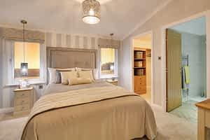 Willerby Delamere bedroom