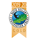 David Bellamy Conservation Award Gold.