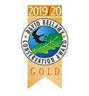 David Bellamy Conservation Award Gold.